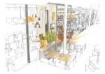 JK dieInnenarchitektin Gastronomie - Alex Frankfurt Skyline Plaza