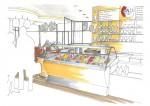 JK dieInnenarchitektin Gastronomie - Eisdiele Krauss